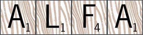 Scrabble Alfa
